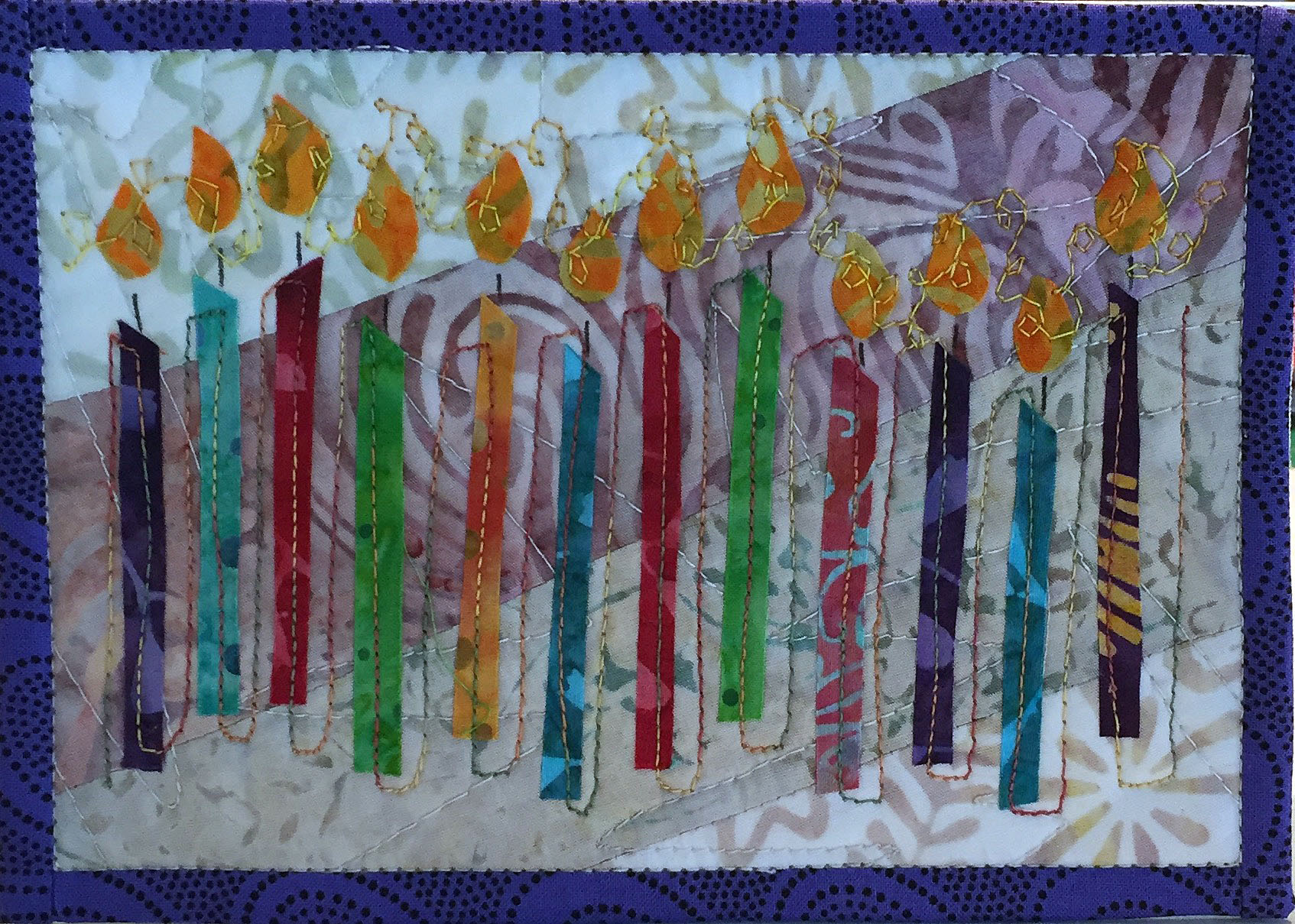 Quilted Greeting Cards - Celebrations I